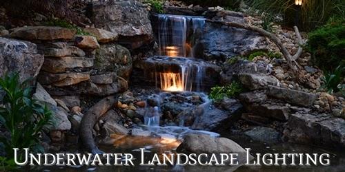 Under Water lighting features cedar rapids iowa