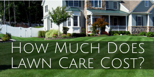 The Best Pricing Guide How Much Does Lawn Service Cost