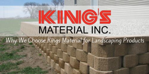 kings material cedar rapids landscaping