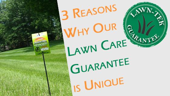lawn care guarantee