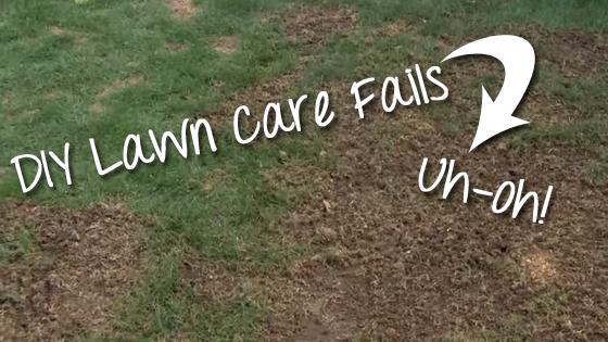 cedar rapids lawn care diy fails