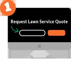 Step 1: Choose lawn services