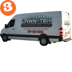 Step 3: We'll provide your lawn service